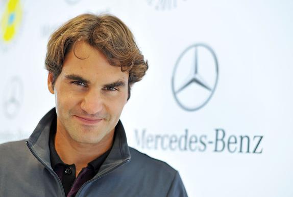 Roger Federer marca personal