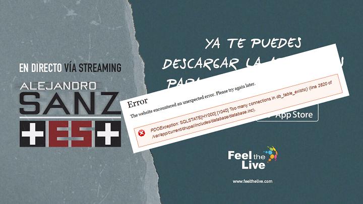 alejandro sanz concierto 24 feel the live