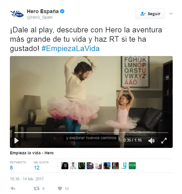 samanta villar hero tuit empieza la vida