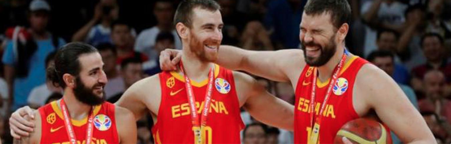 los valores del equipo de baloncesto de España