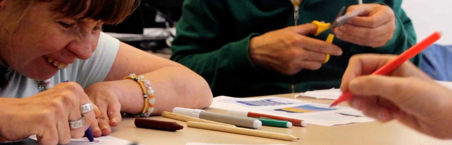 creatividad personas discapacidad be shared empresa consultora diseno barcelona