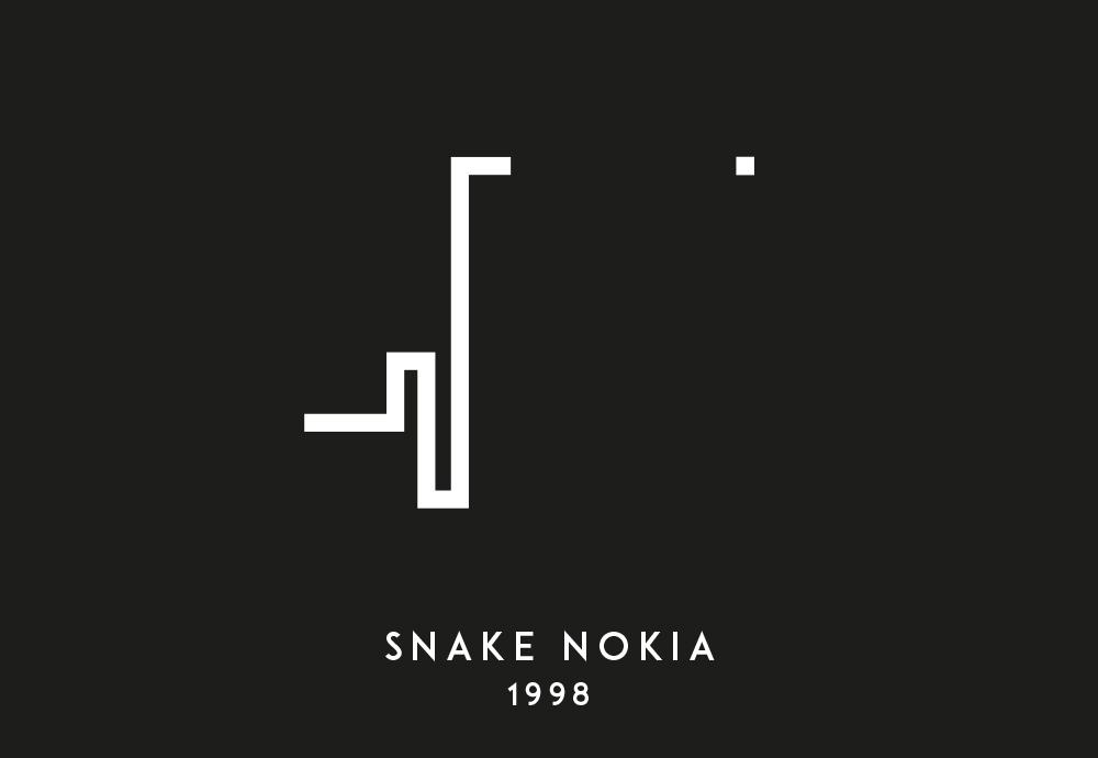 snake serpiente movil nokia juego videojuego game barcelona