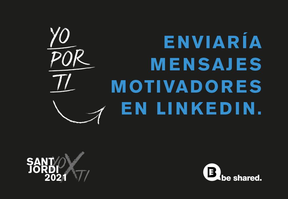 mensajes motivadores linkedin imagen be shared