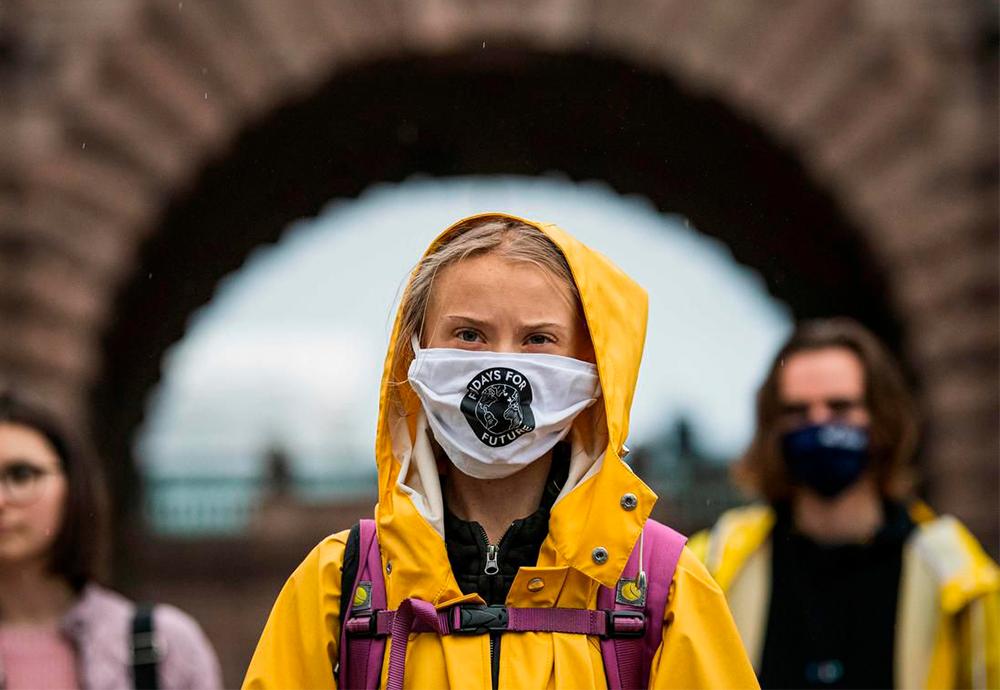 Greta Thunberg durante su intervencion en la COP 24 Conferencia de las Naciones Unidas sobre el Cambio Climatico
