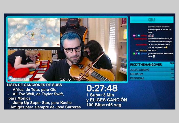 twitch tutorial violin